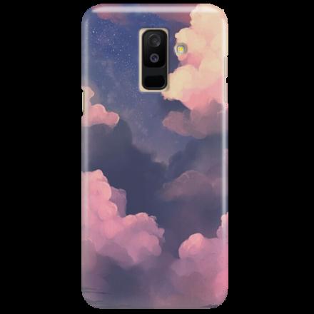 Etui na telefon SAMSUNG GALAXY A6 PLUS 2018 CLOUDS