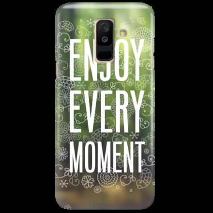 Etui na telefon SAMSUNG GALAXY A6 PLUS 2018 ENJOY EVERY MOMENT 2