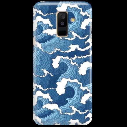 Etui na telefon SAMSUNG GALAXY A6 PLUS 2018 FALE WAVES