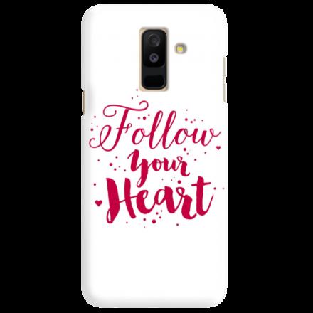 Etui na telefon SAMSUNG GALAXY A6 PLUS 2018 FOLLOW YOUR HEART