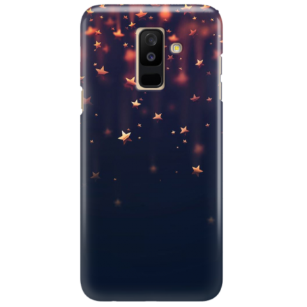 Etui na telefon SAMSUNG GALAXY A6 PLUS 2018 GWIAZDKI STARS