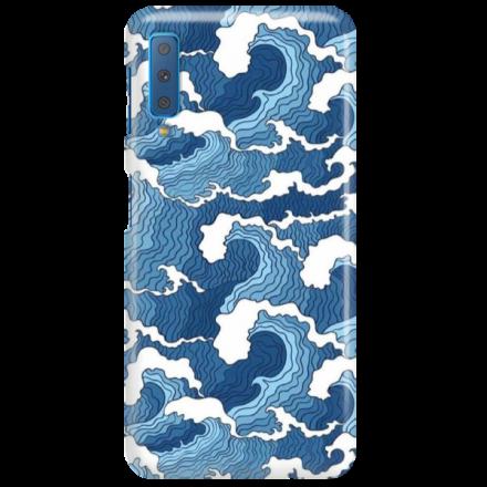 Etui na telefon SAMSUNG GALAXY A7 2018 FALE WAVES