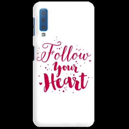 Etui na telefon SAMSUNG GALAXY A7 2018 FOLLOW YOUR HEART