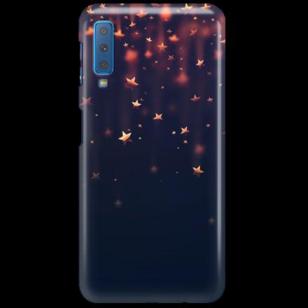 Etui na telefon SAMSUNG GALAXY A7 2018 GWIAZDKI STARS