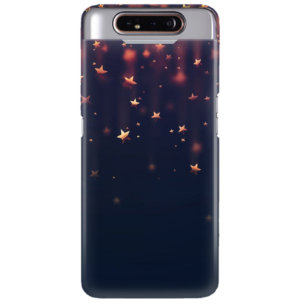 Etui na telefon SAMSUNG GALAXY A80 GWIAZDKI STARS