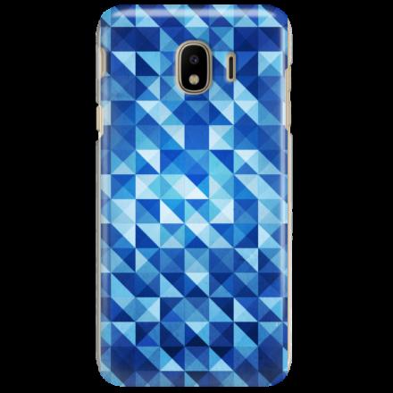 Etui na telefon SAMSUNG GALAXY J4 2018 BLUE GEOMETRIC