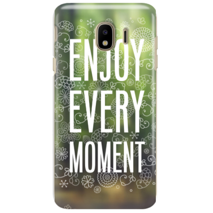 Etui na telefon SAMSUNG GALAXY J4 2018 ENJOY EVERY MOMENT 2