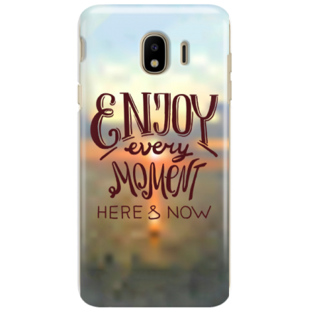 Etui na telefon SAMSUNG GALAXY J4 2018 ENJOY EVERY MOMENT