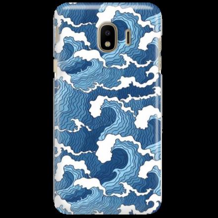 Etui na telefon SAMSUNG GALAXY J4 2018 FALE WAVES