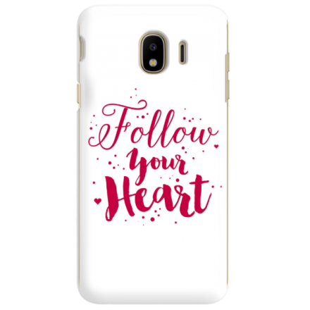 Etui na telefon SAMSUNG GALAXY J4 2018 FOLLOW YOUR HEART