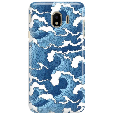 Etui na telefon SAMSUNG GALAXY J4 PLUS 2018 FALE WAVES