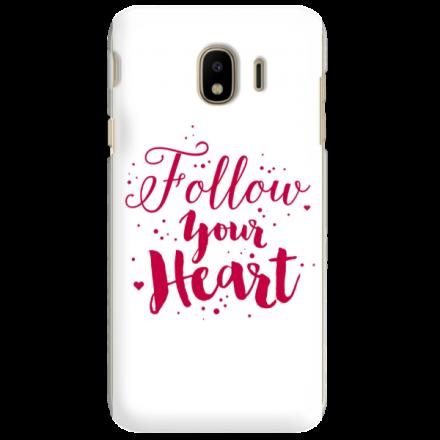 Etui na telefon SAMSUNG GALAXY J4 PLUS 2018 FOLLOW YOUR HEART