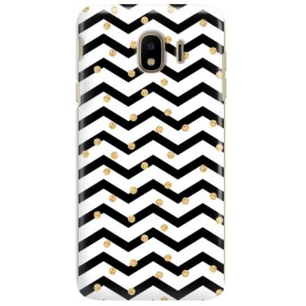 Etui na telefon SAMSUNG GALAXY J4 PLUS 2018 GOLD BLACK WHITE