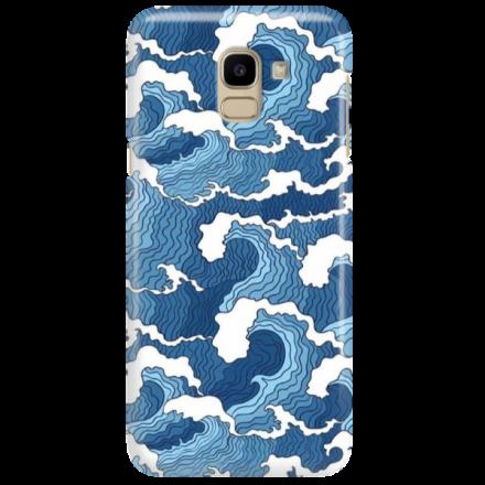 Etui na telefon SAMSUNG GALAXY J6 2018 FALE WAVES