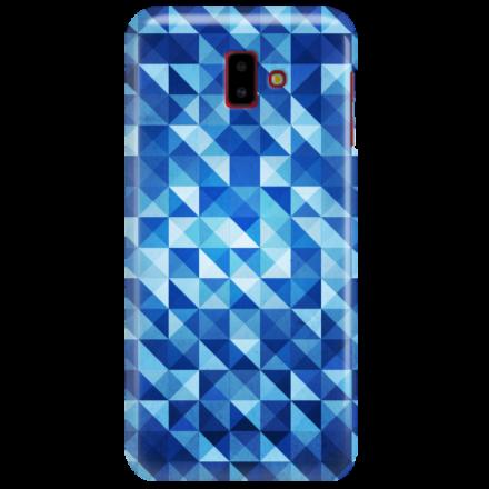 Etui na telefon SAMSUNG GALAXY J6 PLUS 2018 BLUE GEOMETRIC