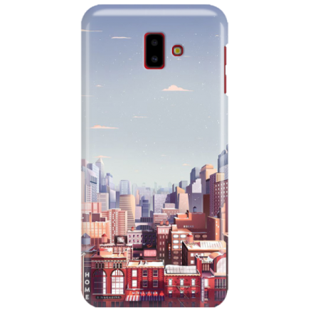 Etui na telefon SAMSUNG GALAXY J6 PLUS 2018 CITY