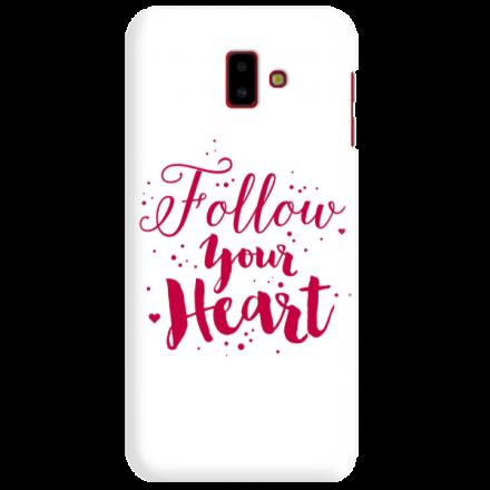 Etui na telefon SAMSUNG GALAXY J6 PLUS 2018 FOLLOW YOUR HEART