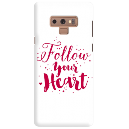 Etui na telefon SAMSUNG GALAXY NOTE 9 FOLLOW YOUR HEART