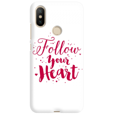 Etui na telefon XIAOMI MI A2 FOLLOW YOUR HEART