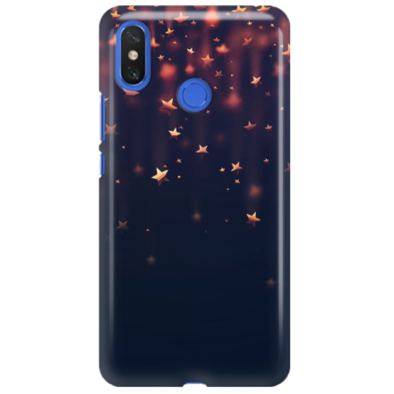 Etui na telefon XIAOMI MI MAX 3 GWIAZDKI STARS