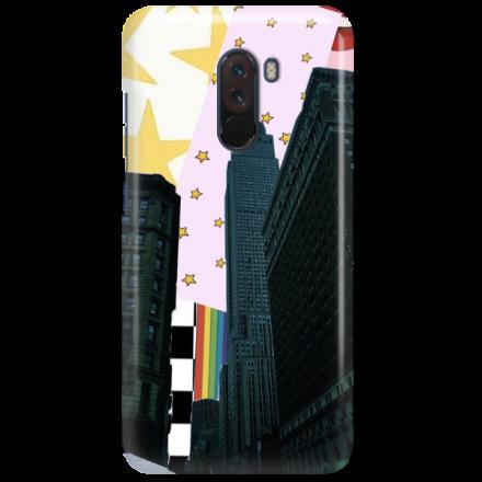 Etui na telefon XIAOMI POCO F1 NEW YORK