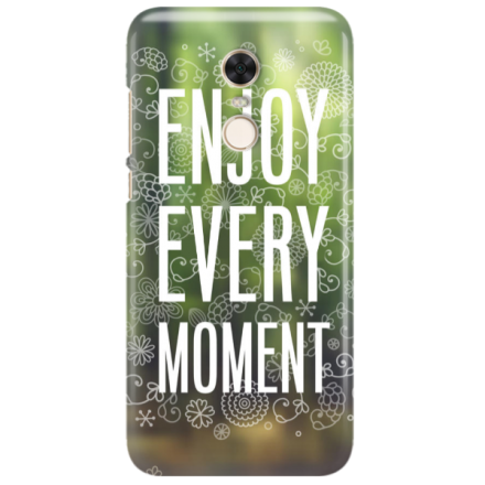 Etui na telefon XIAOMI REDMI 5 PLUS ENJOY EVERY MOMENT 2
