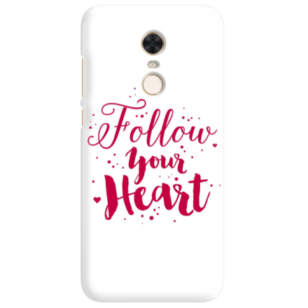 Etui na telefon XIAOMI REDMI 5 PLUS FOLLOW YOUR HEART
