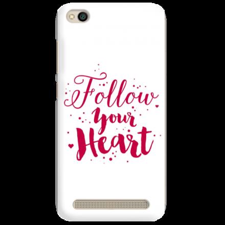 Etui na telefon XIAOMI REDMI 5A FOLLOW YOUR HEART