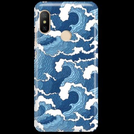 Etui na telefon XIAOMI REDMI 6 PRO FALE WAVES