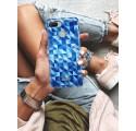 Etui na telefon XIAOMI REDMI 6 BLUE GEOMETRIC
