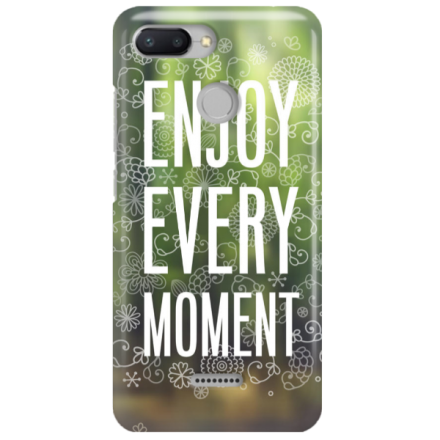 Etui na telefon XIAOMI REDMI 6 ENJOY EVERY MOMENT 2