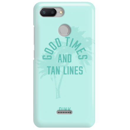 Etui na telefon XIAOMI REDMI 6 GOOD TIMES AND TAN LINES