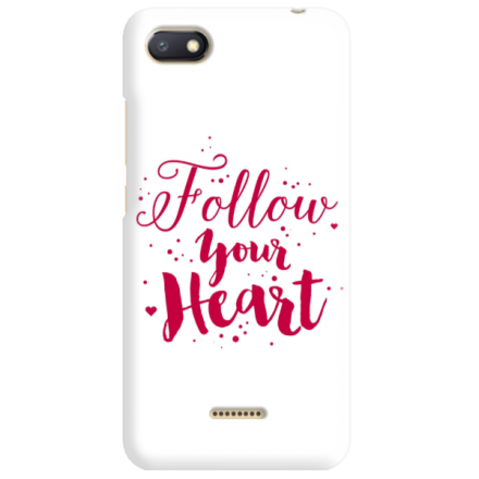 Etui na telefon XIAOMI REDMI 6A FOLLOW YOUR HEART