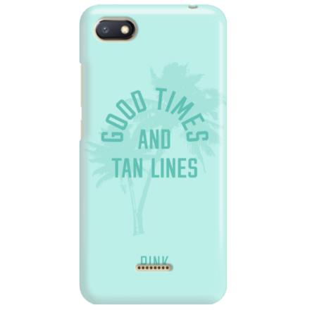 Etui na telefon XIAOMI REDMI 6A GOOD TIMES AND TAN LINES
