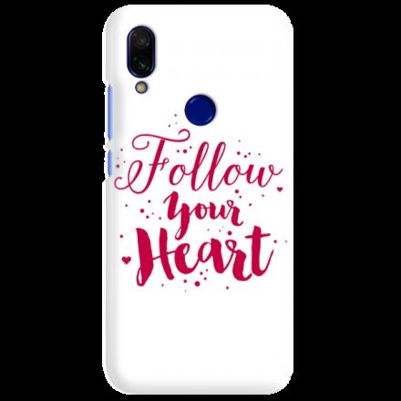 Etui na telefon XIAOMI REDMI 7 FOLLOW YOUR HEART