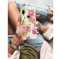 Etui na telefon XIAOMI REDMI 7 KWIATY FLOWERS