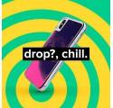 ETUI LIQUID NEON NA TELEFON IPHONE 7 PLUS / 8 PLUS POMARAŃCZOWY