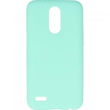 GUMA SMOOTH ETUI NA TELEFON LG K10 2017 M250N MIĘTOWY