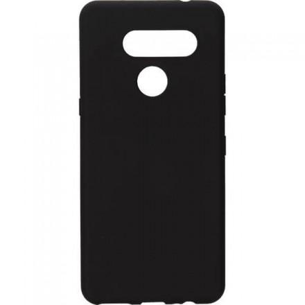 ETUI GUMA SMOOTH NA TELEFON LG K50s CZARNY