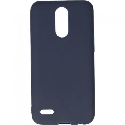 GUMA SMOOTH ETUI NA TELEFON LG K10 2017 M250N GRANATOWY