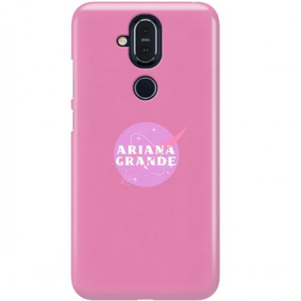 ETUI CLEAR NA TELEFON NOKIA 8.1 / X7 ARIANA GRANDE 3