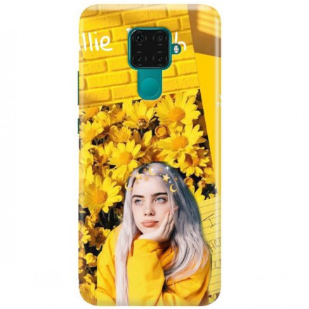 ETUI CLEAR NA TELEFON HUAWEI MATE 30 LITE BILLIE EILISH 1