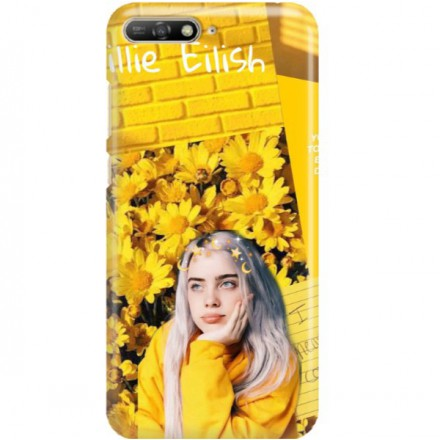 ETUI CLEAR NA TELEFON HUAWEI Y6 2019 BILLIE EILISH 1