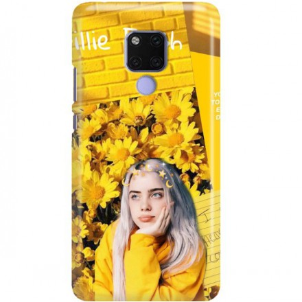 ETUI CLEAR NA TELEFON HUAWEI MATE 20 X BILLIE EILISH 1