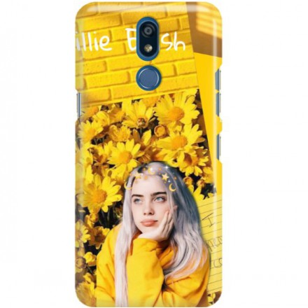 ETUI CLEAR NA TELEFON LG K40 BILLIE EILISH 1