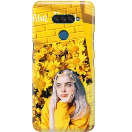 ETUI CLEAR NA TELEFON LG K50S BILLIE EILISH 1