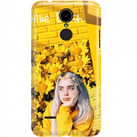 ETUI CLEAR NA TELEFON LG K8 2017 BILLIE EILISH 1