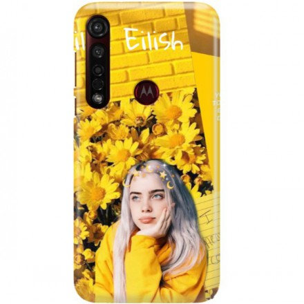 ETUI CLEAR NA TELEFON MOTOROLA MOTO G8 PLUS BILLIE EILISH 1