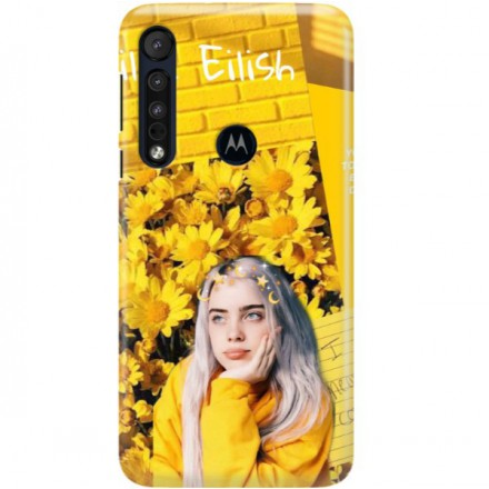 ETUI CLEAR NA TELEFON MOTOROLA MOTO ONE MACRO BILLIE EILISH 1