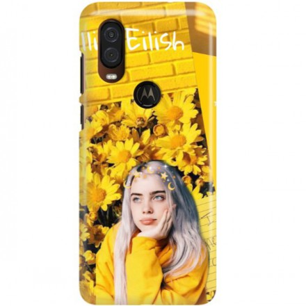 ETUI CLEAR NA TELEFON MOTOROLA MOTO ONE VISION BILLIE EILISH 1